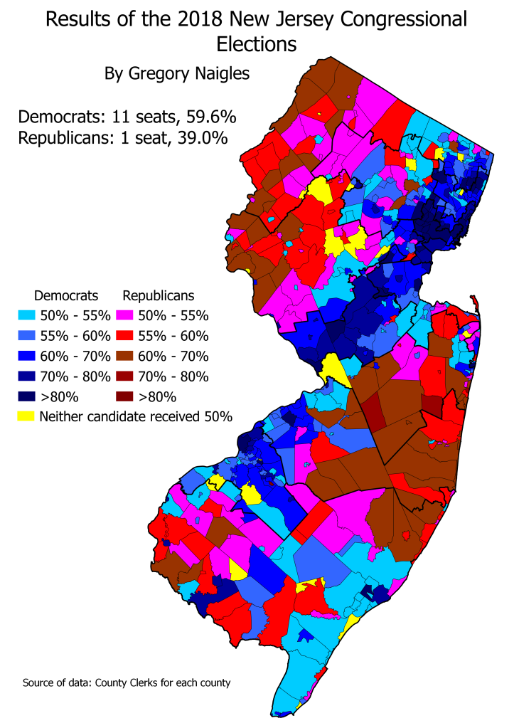NJ 18Cong results