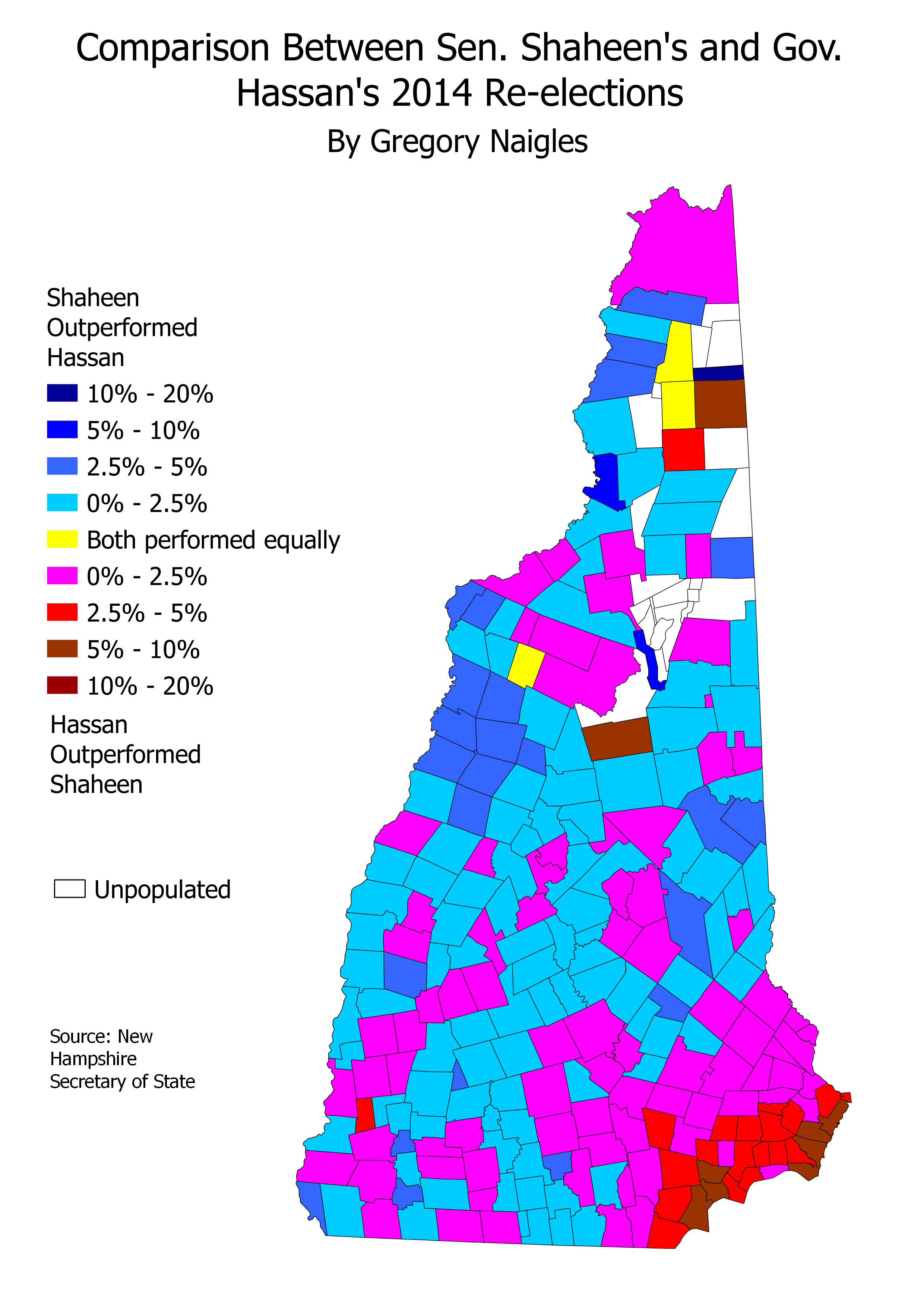 Maps And Analysis Of The 2014 Gubernatorial And Senatorial Elections