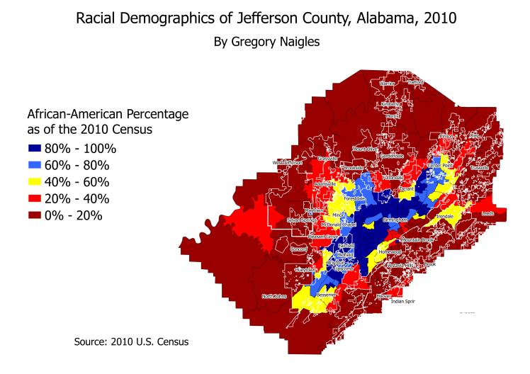 AL Jefferson 2010 AA demographics