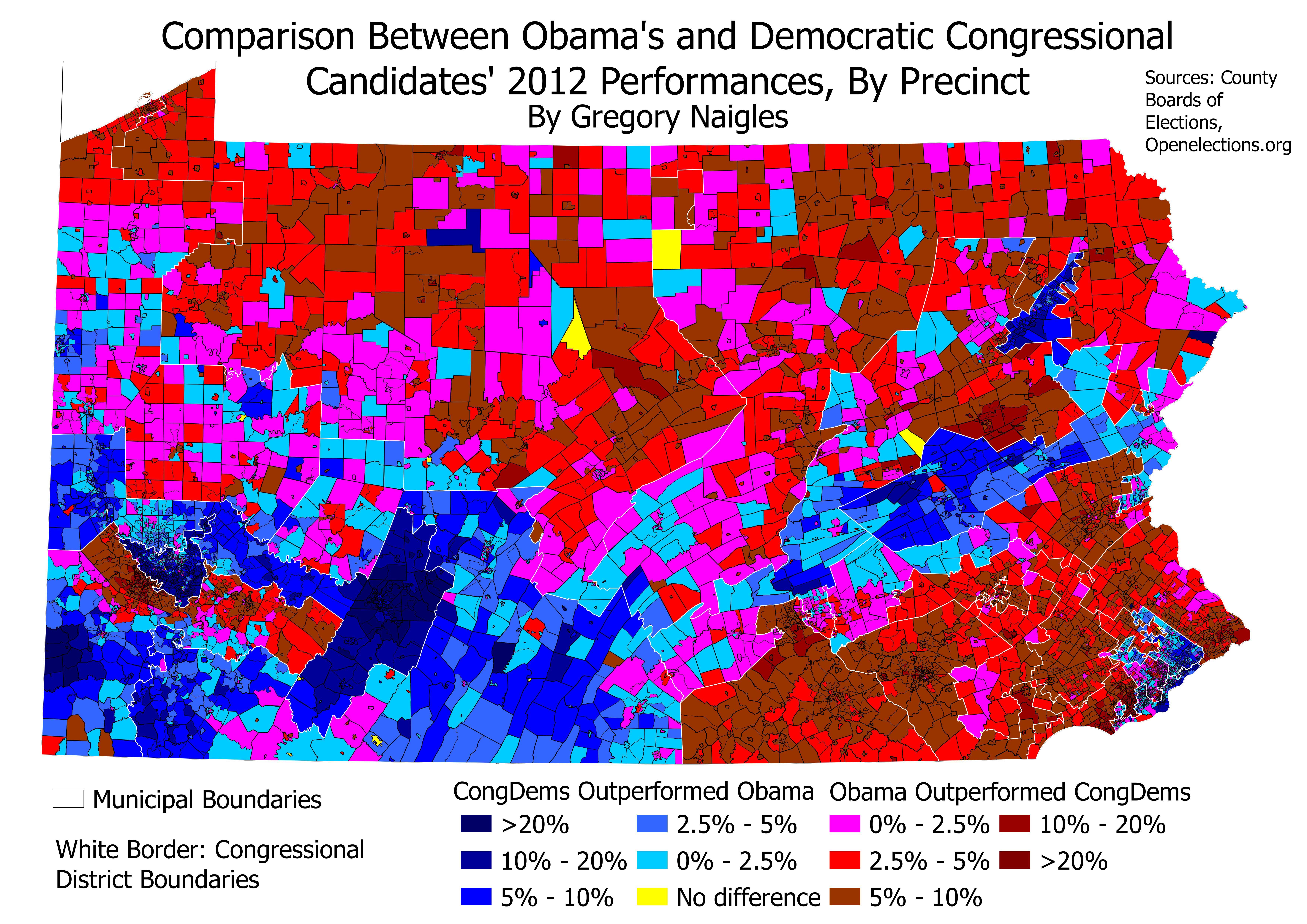 Some really cool maps of the 2012 Congressional and State