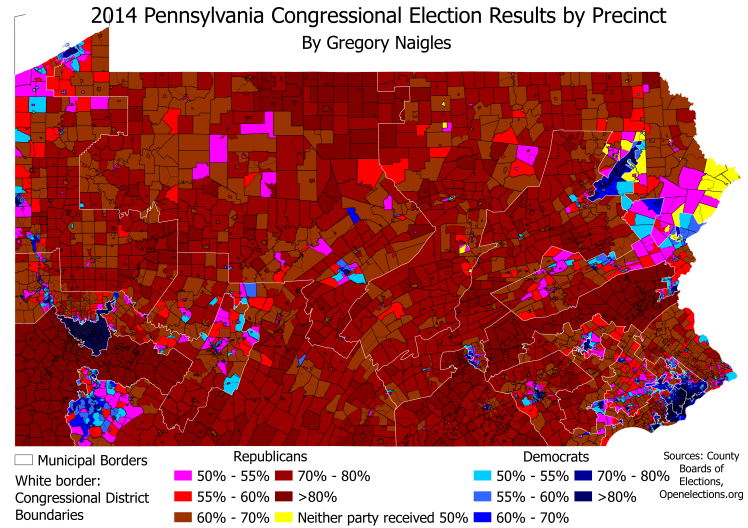 PA 14Cong results