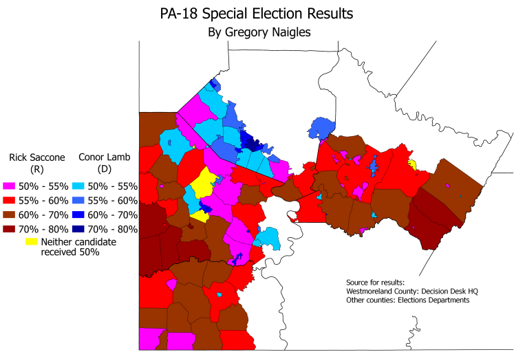 PA CD18 SpecElec results
