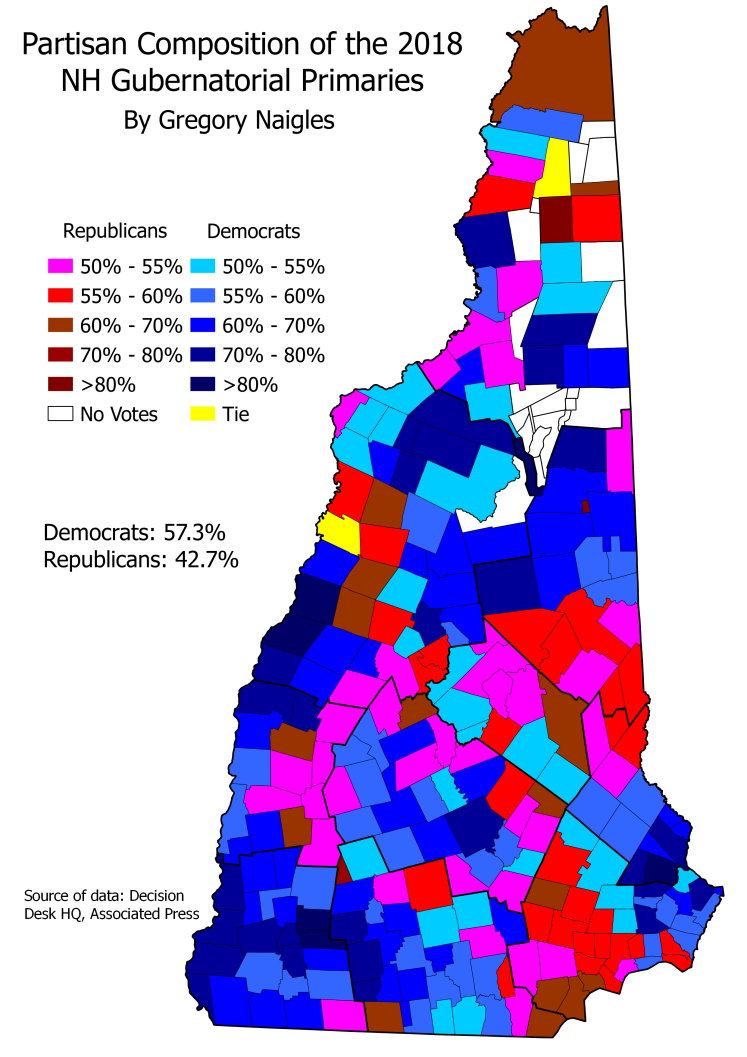 NH 18Primary Gov partisan composition
